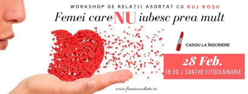 Workshop de stare de bine in relatia de cuplu – 28 Februarie, Bucuresti